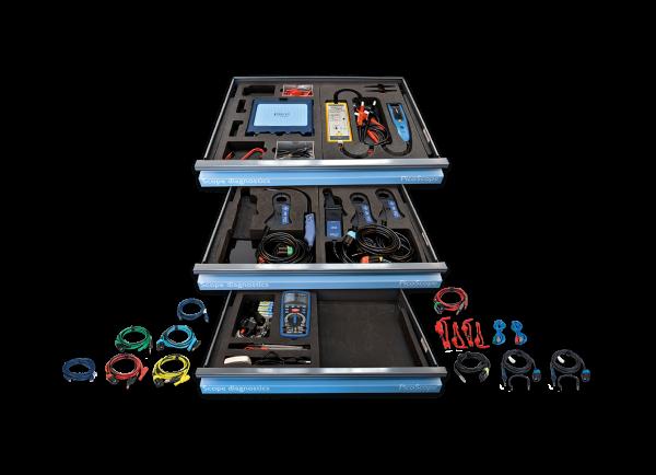 PQ236 PicoScope 4425A Elektro- und Hybrid Kit in Systemeinlage